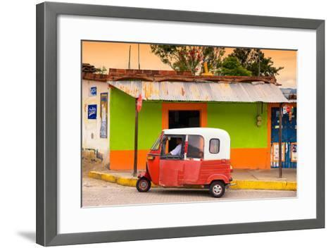 ?Viva Mexico! Collection - Mexican Tuk Tuk-Philippe Hugonnard-Framed Art Print