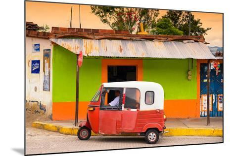 ?Viva Mexico! Collection - Mexican Tuk Tuk-Philippe Hugonnard-Mounted Photographic Print