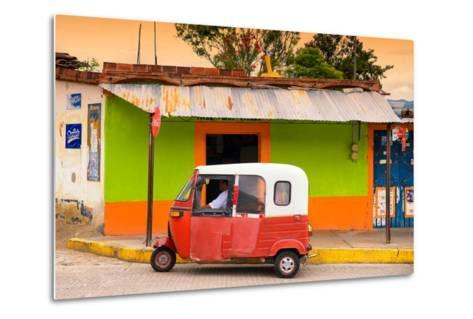 ?Viva Mexico! Collection - Mexican Tuk Tuk-Philippe Hugonnard-Metal Print