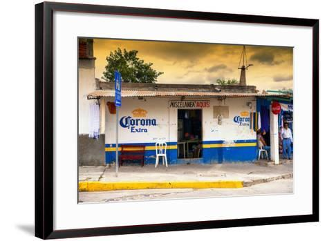 ?Viva Mexico! Collection - Traditional Store at Sunset-Philippe Hugonnard-Framed Art Print