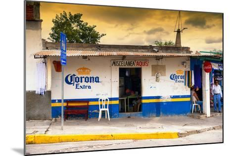 ?Viva Mexico! Collection - Traditional Store at Sunset-Philippe Hugonnard-Mounted Photographic Print