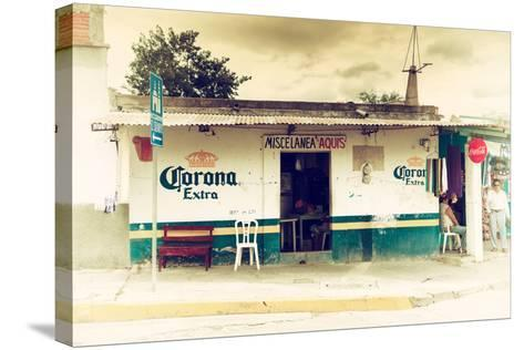 ?Viva Mexico! Collection - Traditional Store-Philippe Hugonnard-Stretched Canvas Print