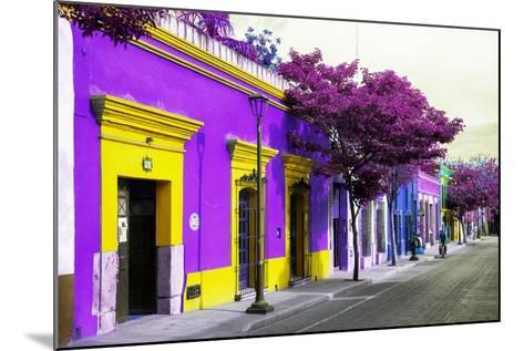 ¡Viva Mexico! Collection - Colorful Mexican Street III - Oaxaca-Philippe Hugonnard-Mounted Photographic Print