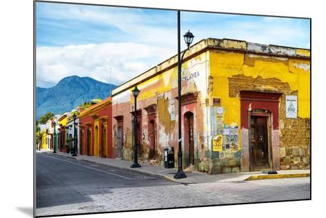 ¡Viva Mexico! Collection - Oaxaca City Street-Philippe Hugonnard-Mounted Photographic Print