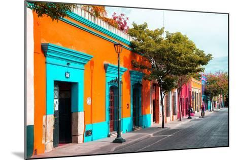 ¡Viva Mexico! Collection - Colorful Mexican Street IV - Oaxaca-Philippe Hugonnard-Mounted Photographic Print