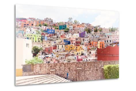 ?Viva Mexico! Collection - Architecture Guanajuato II-Philippe Hugonnard-Metal Print