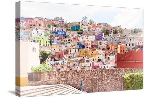 ?Viva Mexico! Collection - Architecture Guanajuato II-Philippe Hugonnard-Stretched Canvas Print
