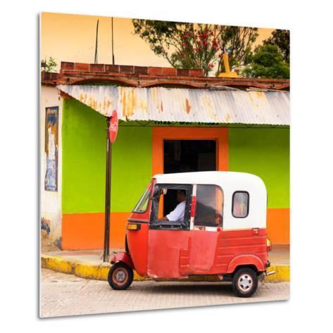 ¡Viva Mexico! Square Collection - Mexican Tuk Tuk-Philippe Hugonnard-Metal Print