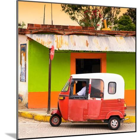 ¡Viva Mexico! Square Collection - Mexican Tuk Tuk-Philippe Hugonnard-Mounted Photographic Print