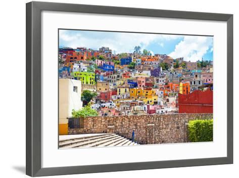 ?Viva Mexico! Collection - Architecture Guanajuato-Philippe Hugonnard-Framed Art Print