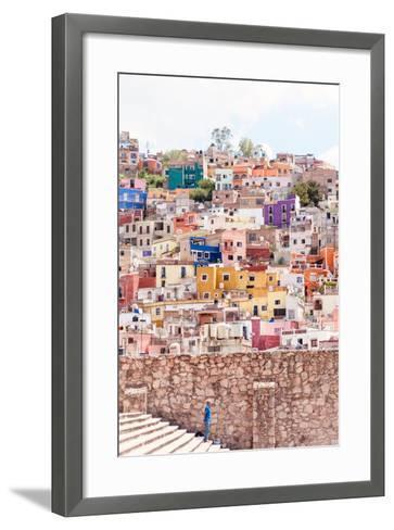¡Viva Mexico! Collection - Architecture Guanajuato IV-Philippe Hugonnard-Framed Art Print