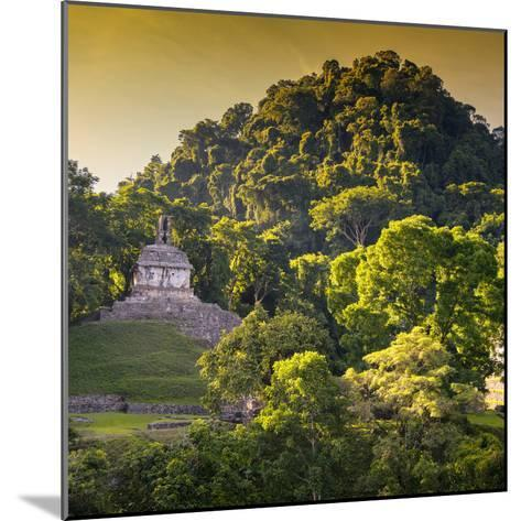 ¡Viva Mexico! Square Collection - Mayan Temple at Sunrise III-Philippe Hugonnard-Mounted Photographic Print