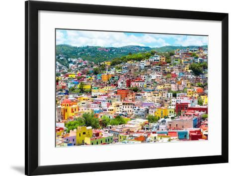¡Viva Mexico! Collection - Colorful Cityscape IX - Guanajuato-Philippe Hugonnard-Framed Art Print