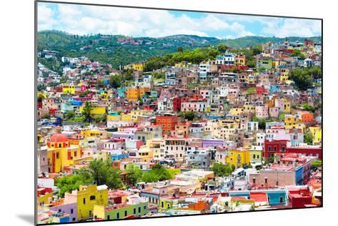 ¡Viva Mexico! Collection - Colorful Cityscape IX - Guanajuato-Philippe Hugonnard-Mounted Photographic Print