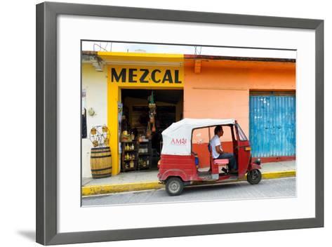 ?Viva Mexico! Collection - Mezcal Tuk Tuk-Philippe Hugonnard-Framed Art Print