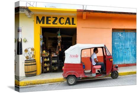 ?Viva Mexico! Collection - Mezcal Tuk Tuk-Philippe Hugonnard-Stretched Canvas Print