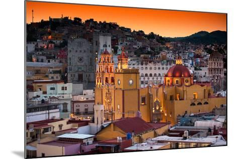 ¡Viva Mexico! Collection - Colorful City at Twilight - Guanajuato-Philippe Hugonnard-Mounted Photographic Print