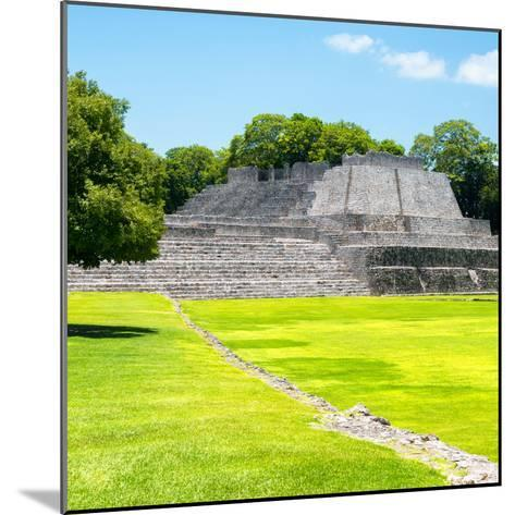 ¡Viva Mexico! Square Collection - Mayan Ruins in Edzna I-Philippe Hugonnard-Mounted Photographic Print