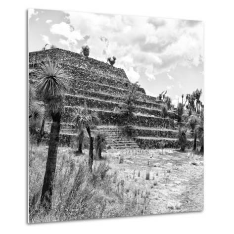¡Viva Mexico! Square Collection - Cantona Archaeological Ruins VIII-Philippe Hugonnard-Metal Print