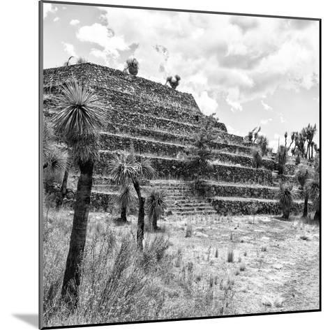 ¡Viva Mexico! Square Collection - Cantona Archaeological Ruins VIII-Philippe Hugonnard-Mounted Photographic Print