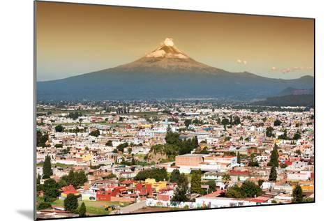 ?Viva Mexico! Collection - Popocatepetl Volcano in Puebla at Sunset-Philippe Hugonnard-Mounted Photographic Print