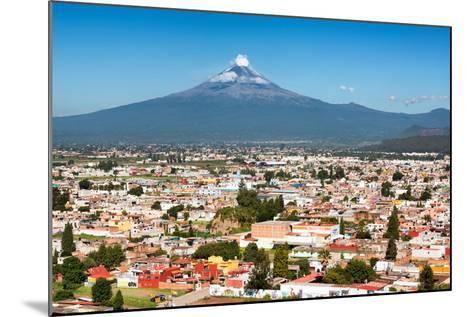 ?Viva Mexico! Collection - Popocatepetl Volcano in Puebla-Philippe Hugonnard-Mounted Photographic Print