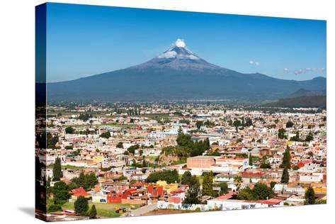 ?Viva Mexico! Collection - Popocatepetl Volcano in Puebla-Philippe Hugonnard-Stretched Canvas Print