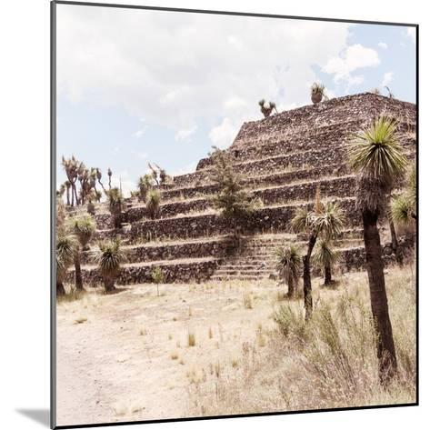 ¡Viva Mexico! Square Collection - Cantona Archaeological Ruins VII-Philippe Hugonnard-Mounted Photographic Print