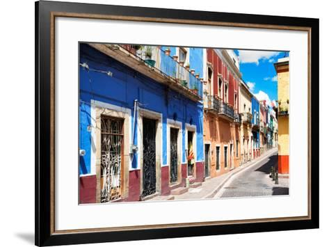 ?Viva Mexico! Collection - Colorful Street Scene - Guanajuato III-Philippe Hugonnard-Framed Art Print