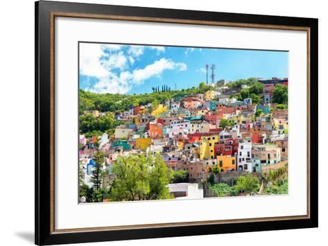 ?Viva Mexico! Collection - Hillside view of Guanajuato-Philippe Hugonnard-Framed Art Print