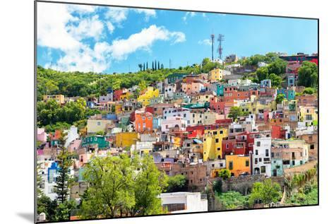 ?Viva Mexico! Collection - Hillside view of Guanajuato-Philippe Hugonnard-Mounted Photographic Print