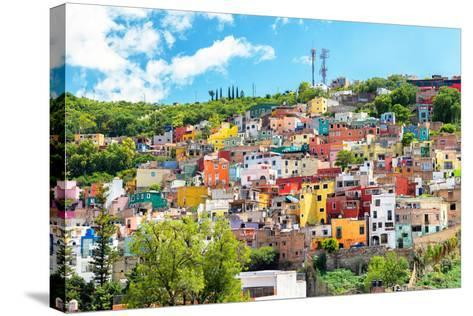 ?Viva Mexico! Collection - Hillside view of Guanajuato-Philippe Hugonnard-Stretched Canvas Print
