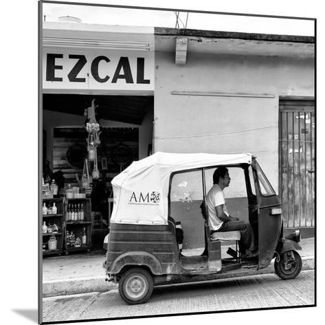 ¡Viva Mexico! Square Collection - Red Tuk Tuk II-Philippe Hugonnard-Mounted Photographic Print