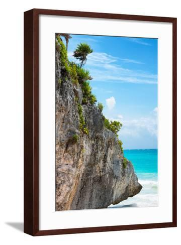 ¡Viva Mexico! Collection - Rock in the Caribbean IV-Philippe Hugonnard-Framed Art Print