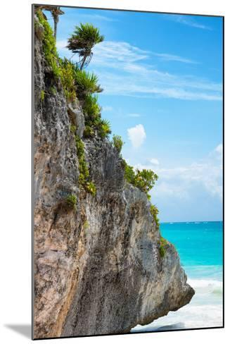 ¡Viva Mexico! Collection - Rock in the Caribbean IV-Philippe Hugonnard-Mounted Photographic Print