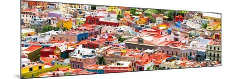 ?Viva Mexico! Panoramic Collection - Guanajuato Colorful Cityscape VII-Philippe Hugonnard-Mounted Photographic Print