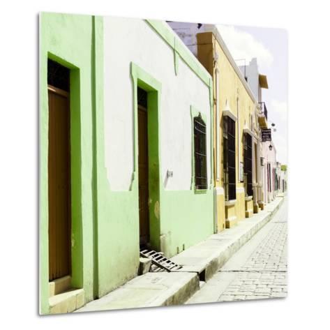 ¡Viva Mexico! Square Collection - Coloful Street III-Philippe Hugonnard-Metal Print