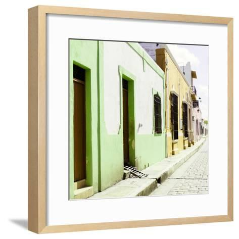 ¡Viva Mexico! Square Collection - Coloful Street III-Philippe Hugonnard-Framed Art Print