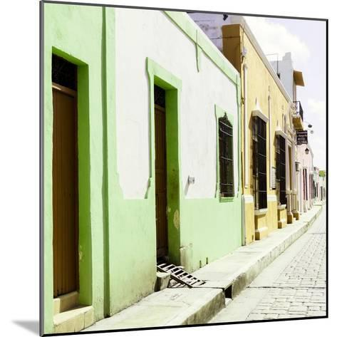 ¡Viva Mexico! Square Collection - Coloful Street III-Philippe Hugonnard-Mounted Photographic Print