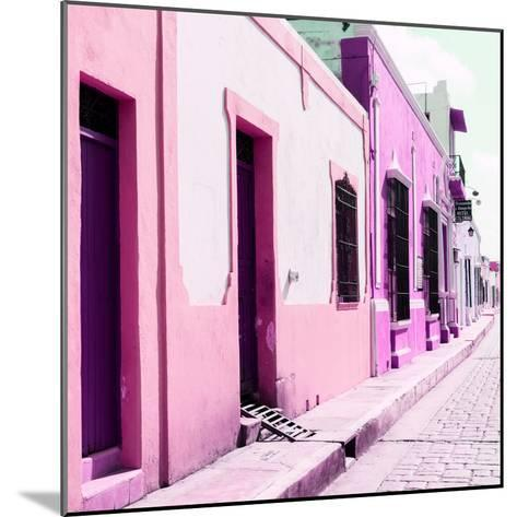 ¡Viva Mexico! Square Collection - Coloful Street II-Philippe Hugonnard-Mounted Photographic Print