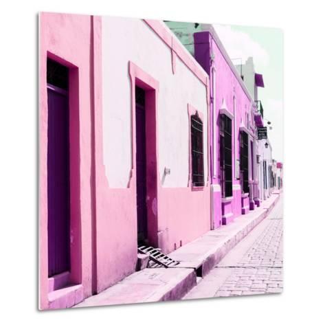 ¡Viva Mexico! Square Collection - Coloful Street II-Philippe Hugonnard-Metal Print