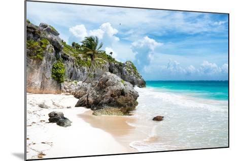¡Viva Mexico! Collection - Caribbean Beach II-Philippe Hugonnard-Mounted Photographic Print