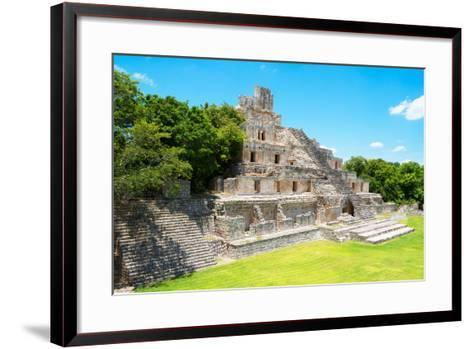 ?Viva Mexico! Collection - Maya Archaeological Site VI - Edzna Campeche-Philippe Hugonnard-Framed Art Print