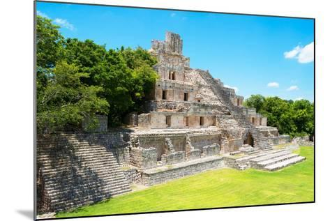 ?Viva Mexico! Collection - Maya Archaeological Site VI - Edzna Campeche-Philippe Hugonnard-Mounted Photographic Print