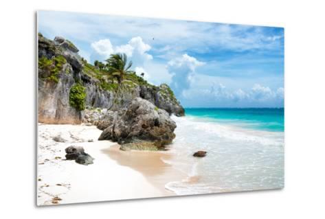 ¡Viva Mexico! Collection - Caribbean Beach II-Philippe Hugonnard-Metal Print
