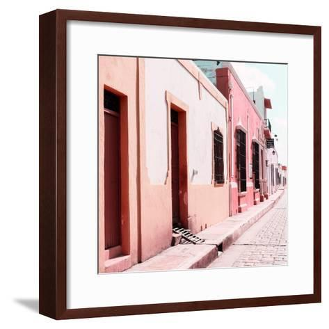 ¡Viva Mexico! Square Collection - Coloful Street IV-Philippe Hugonnard-Framed Art Print