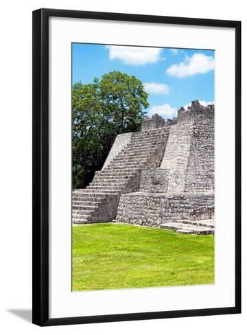 ?Viva Mexico! Collection - Maya Archaeological Site III - Edzna Campeche-Philippe Hugonnard-Framed Art Print