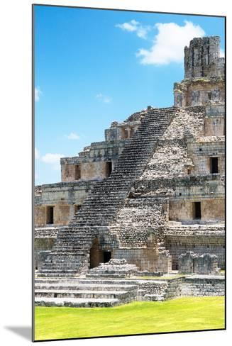 ?Viva Mexico! Collection - Maya Archaeological Site V - Edzna Campeche-Philippe Hugonnard-Mounted Photographic Print