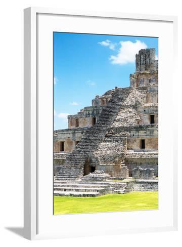 ?Viva Mexico! Collection - Maya Archaeological Site V - Edzna Campeche-Philippe Hugonnard-Framed Art Print