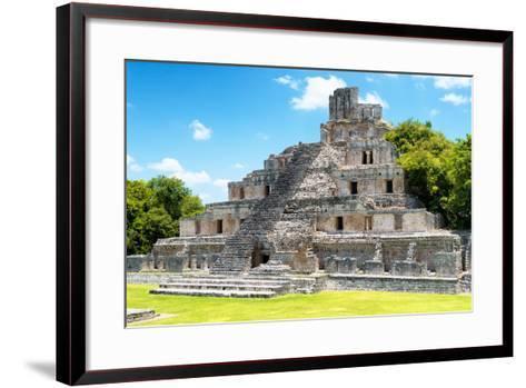 ?Viva Mexico! Collection - Maya Archaeological Site IV - Edzna Campeche-Philippe Hugonnard-Framed Art Print
